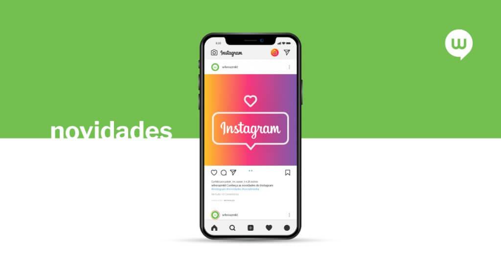 5 novidades lançadas pelo Instagram recentemente